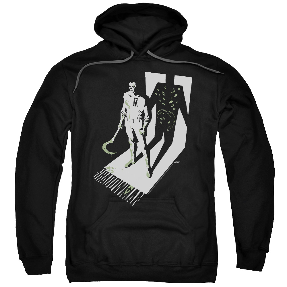 Shadowman/Grim Shadow Adult Pull Over Hoodie Black  Val163