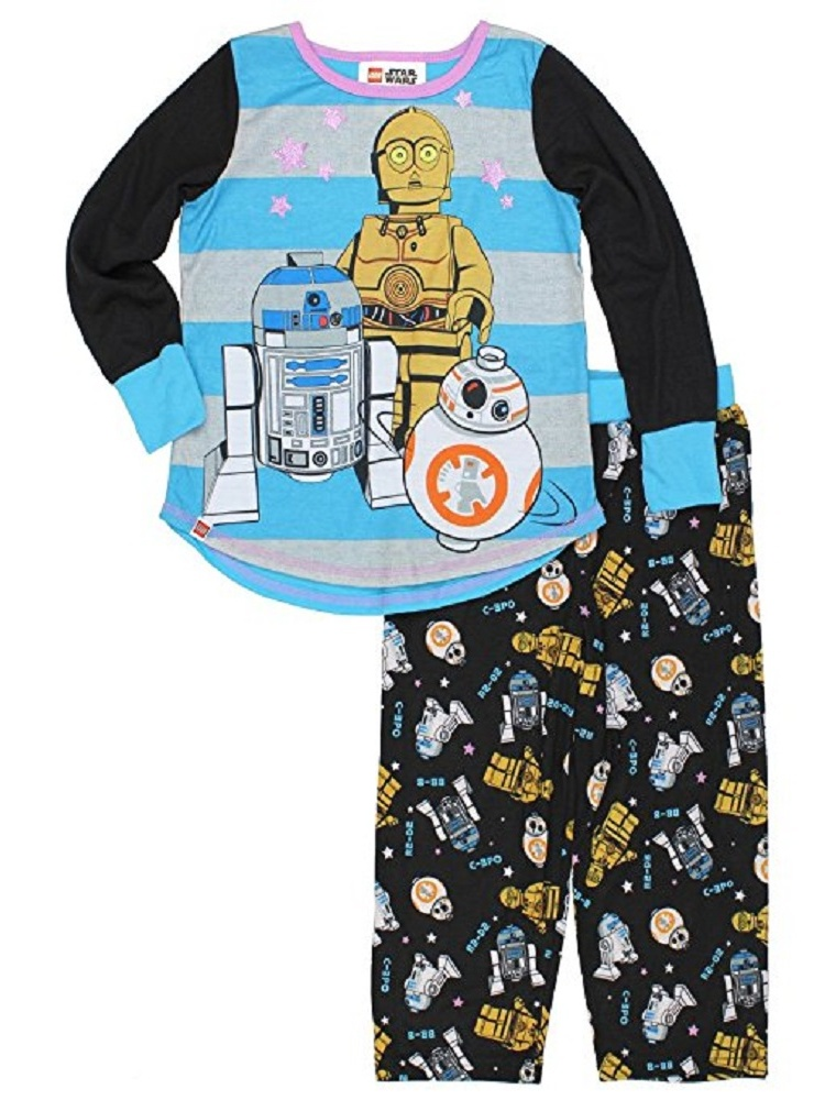 Lego Star Wars The Force Awakens Girls Pajama Set