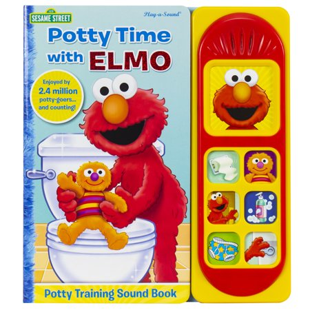 Potty Time with Elmo (Board Book)