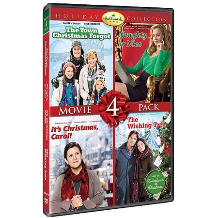 Hallmark Holiday Collection 3  The Town That Christmas Forgot   Naughty Or Nice   Its Christmas  Carol    The Wishing Tree  Dvd