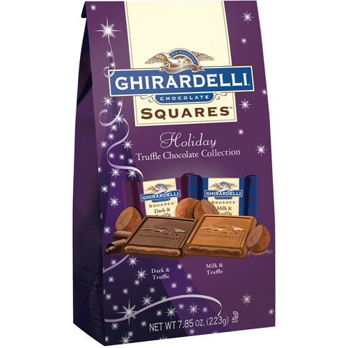 Ghirardelli Holiday Truffle Chocolate Collection������Squares, 7.85 oz
