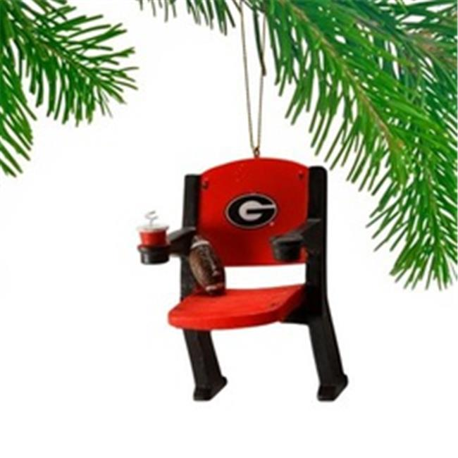 Georgia Bulldogs Stadium Chair Ornament