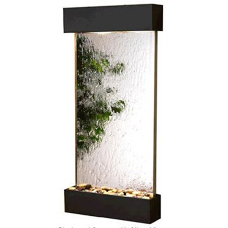 Adagio WCS1540 Whispering Creek - Silver Mirror Wall Fountain
