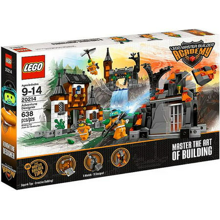 Jumbo Master Builder (Master Builder Academy Adventure Designer Set LEGO 20214 )