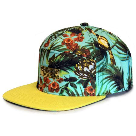 City Hunter Cs260 Tropical 7 Panel Hat - - Tropical Hat