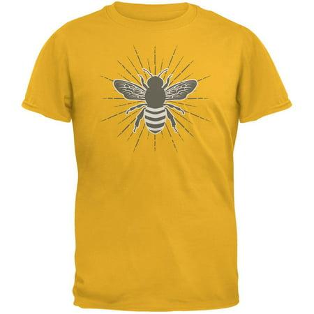 Bumble Bee Rays Gold Adult - Bumble Bee Tshirt