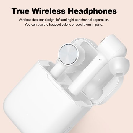 Xiaomi Air TWS Headphones AAC True Wireless Headset ANC Auto Pause Smart Touch Control Sweatproof Sport Earbuds Charging Box with Mic - image 4 de 7
