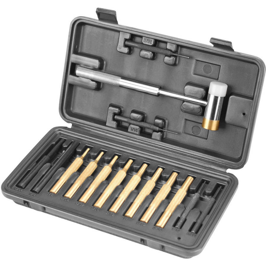 Wheeler 951-900 Hammer and Punch 15-Piece Set Reloading Kit, Universal All Calibers