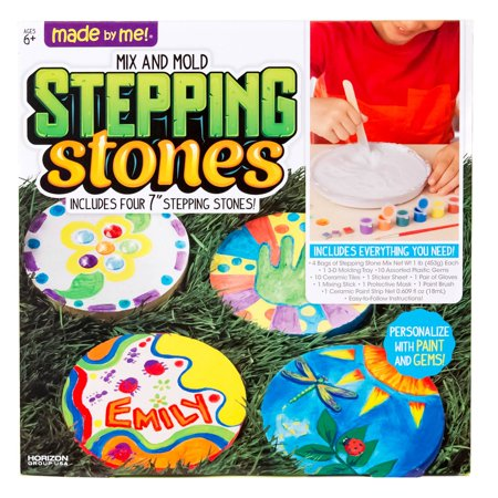 Made by Me Stepping Stones by Horizon Group USA](Arts And Crafts Toys)