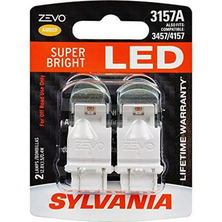 Baby Bullet Amber Led - SYLVANIA ZEVO 3157 Amber LED Bulb (Pack of 2)