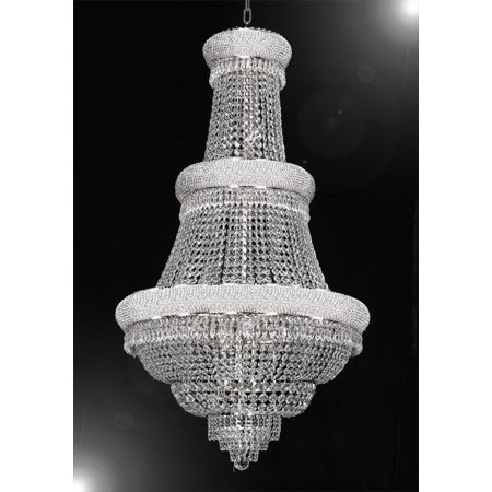 French Empire Crystal Chandelier Perfect For An Entryway Or Foyer H50