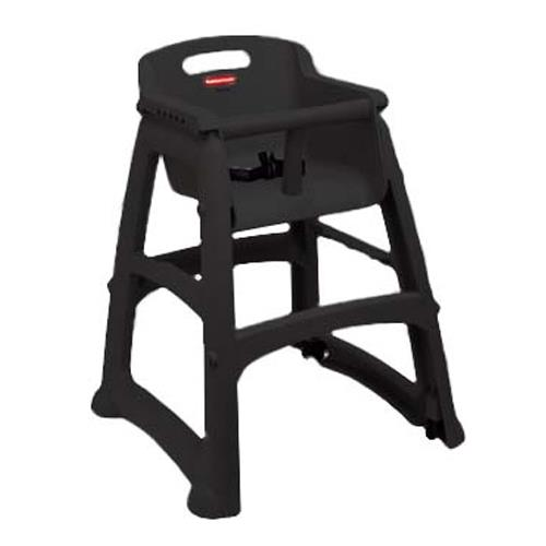 Rubbermaid - 7805 - Black Sturdy Chair™ High Chair