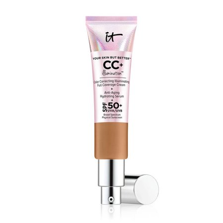 It Cosmetics Your Skin But Better Cc  Cream Illumination With Spf 50   Deep