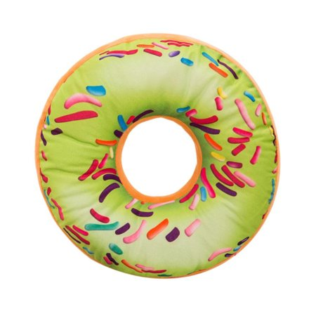 Soft Plush Pillow Stuffed Seat Pad Sweet Donut Foods Cushion Cover Case Toys N (Plush Seats)