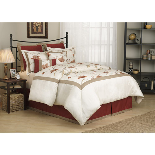 Fashion Street Eve 8-Piece Bedding Comforter Set