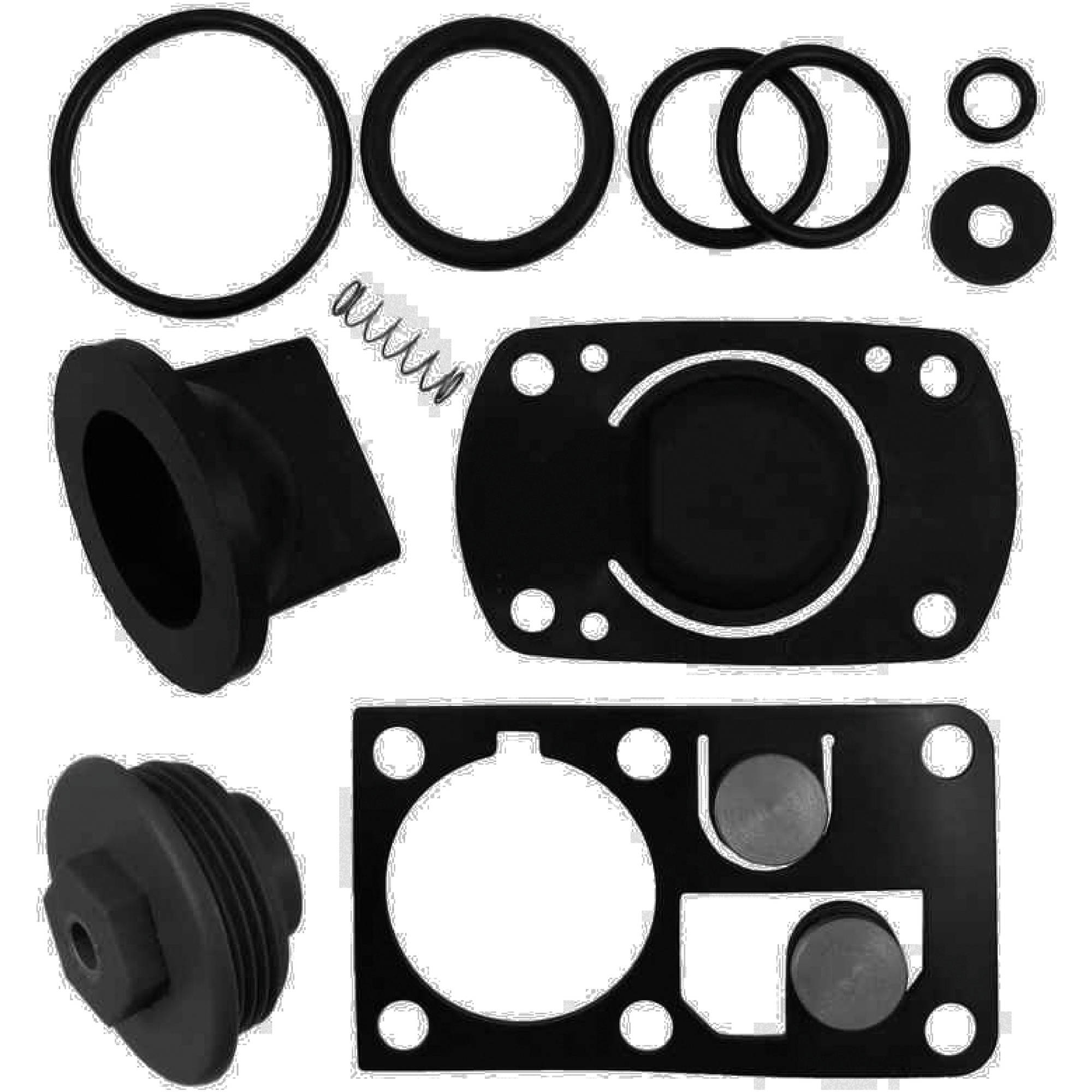 Johnson Pump 81-47242 Gasket Kit, All Gaskets in the Manual Toilet