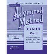 Rubank Educational Library: Rubank Advanced Method - Flute Vol. 1 (Other)