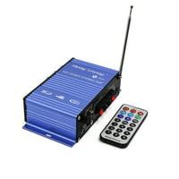 2 Channel  Hi-Fi Digital Display Screen Stereo Audio Amplifier for Car