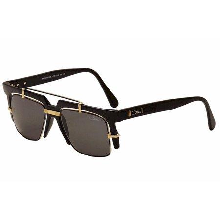 2a8e42d77d3 Cazal Legends - Cazal Legends 873 001 Shiny Black Gold Retro Fashion  Sunglasses 53mm - Walmart.com
