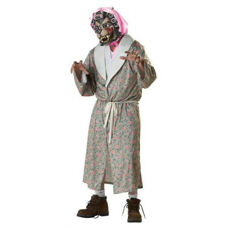 Grandma Wolf Adult Costume - One Size