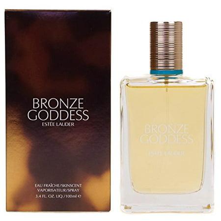 Bronze Goddess Estee Lauder Eau Fraiche Skin Scent Spray 3.4 Oz (100 Ml) Womens