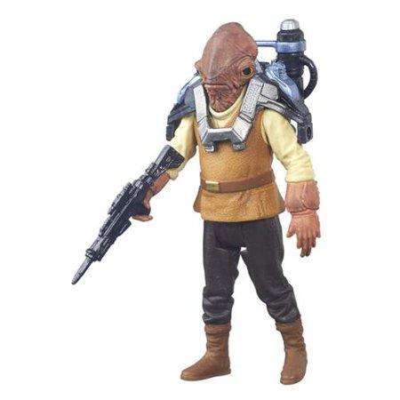 Star Wars Jungle & Space Admiral Ackbar Action Figure