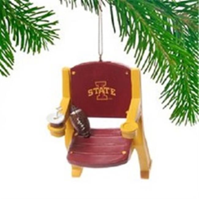 Iowa State Cyclones Stadium Chair Ornament