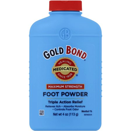 GOLD BOND Maximum Strength Medicated Foot Powder, 4oz