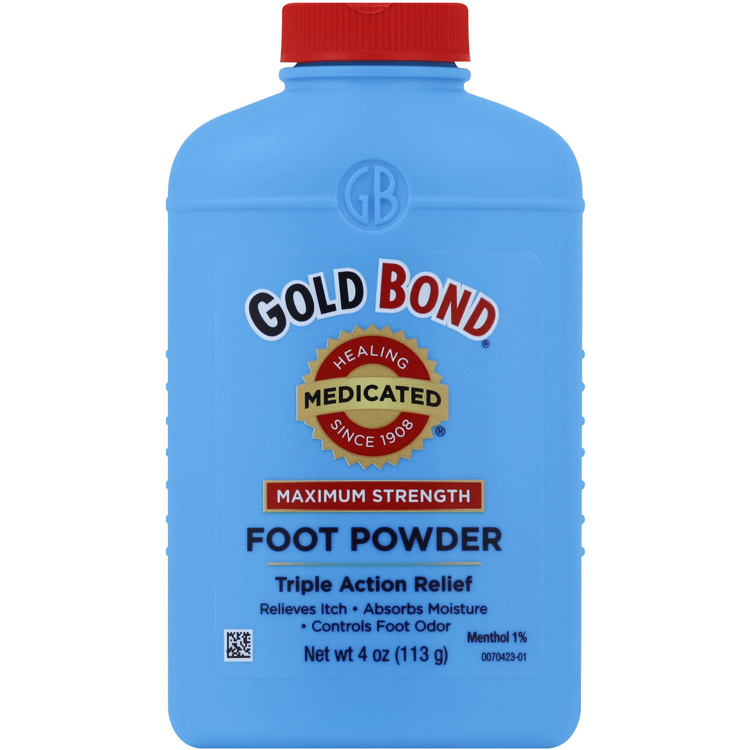 Gold Bond Maximum Strength Medicated Foot Powder, 4.0 oz