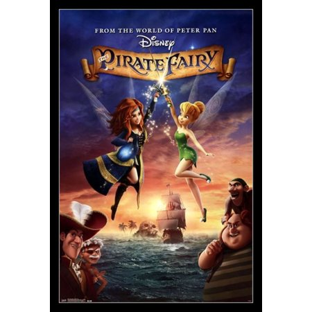 Tinker Bell - Pirate Fairy Poster