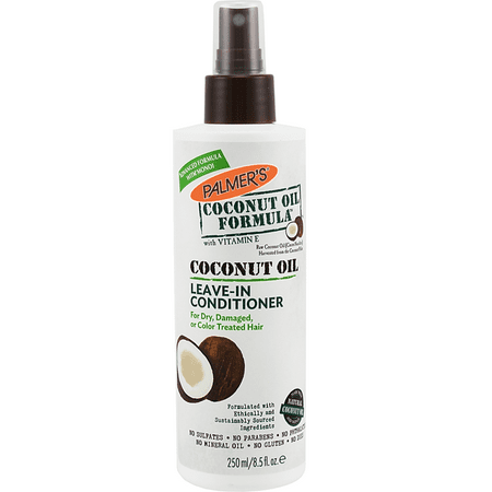 Palmer's Coconut Oil Formula Coconut Oil Leave-In Conditioner, 8.5 fl (Static Free Leave)