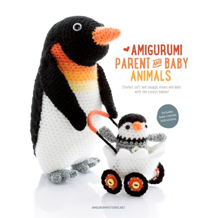 Amigurumi Parent and Baby Animals : Crochet soft and snuggly moms and dads with the cutest babies! - Mom Dad Baby Halloween Ideas