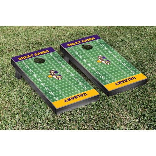 Coastal Carolina Ccu Chanticleers Cornhole Game Set Football Field Version Walmart Com Walmart Com