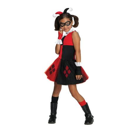 Girls Harley Quinn Tutu Halloween Costume - Walmart.com