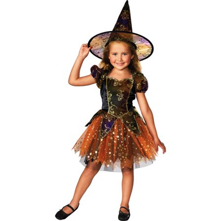 Elegant Witch Toddler Halloween Costume](Homemade Witch Halloween Costumes)