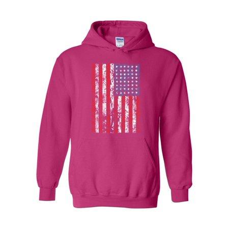 4th of July Flags American Flag Vintage Unisex Hoodie Hooded Sweatshirt