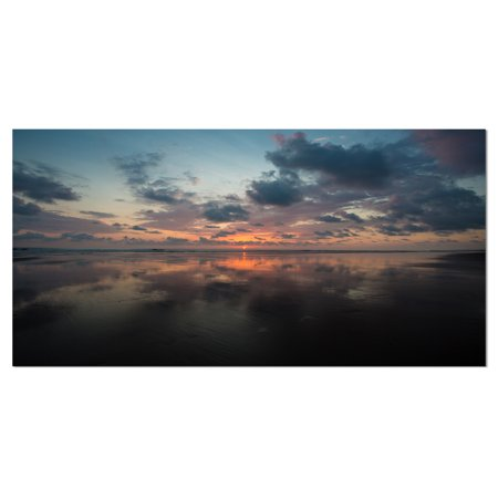 Matapalo In Costa Rica Beach Sunset Extra Large Seascape Art Canvas Walmart Canada