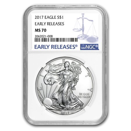 2017 Silver American Eagle MS-70 NGC (Early