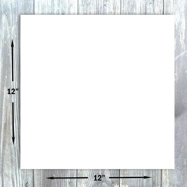 hamilco white cardstock scrapbook paper 12x12 heavy weight
