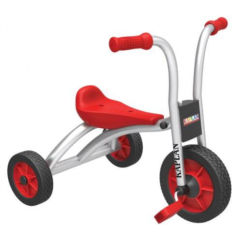 Kaplan Toddler Pedal Trike - Red/Silver (Set of 2)