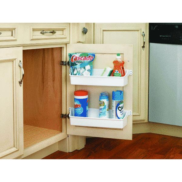 rev a shelf door storage cabinet organizer tray set