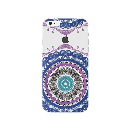 Clear Iphone 6s Plus Case With Design For Apple Tribal Mandala