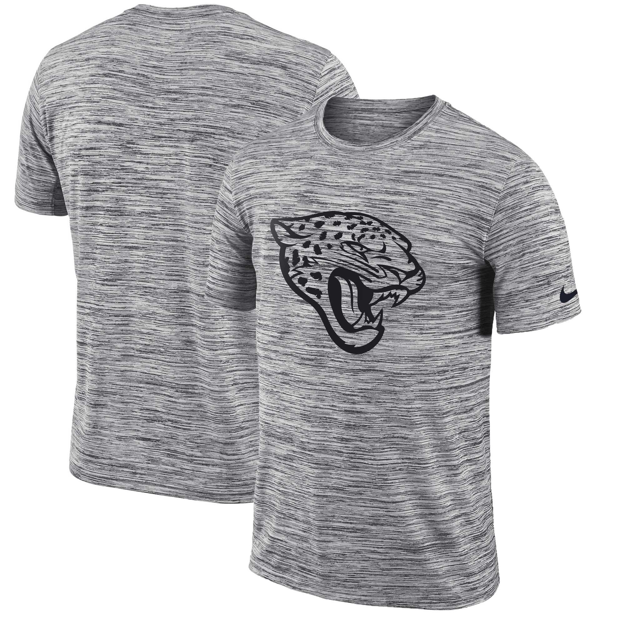 Jacksonville Jaguars Nike Sideline Legend Velocity Travel Performance T-Shirt - Heathered Black - XXL