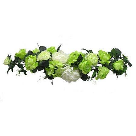 Silk flower depot 11 peony rose hydrangea swag walmart silk flower depot 11 peony rose hydrangea swag mightylinksfo
