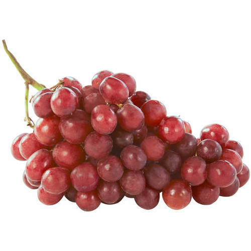 Fresh Seeded Red Grapes, per lb