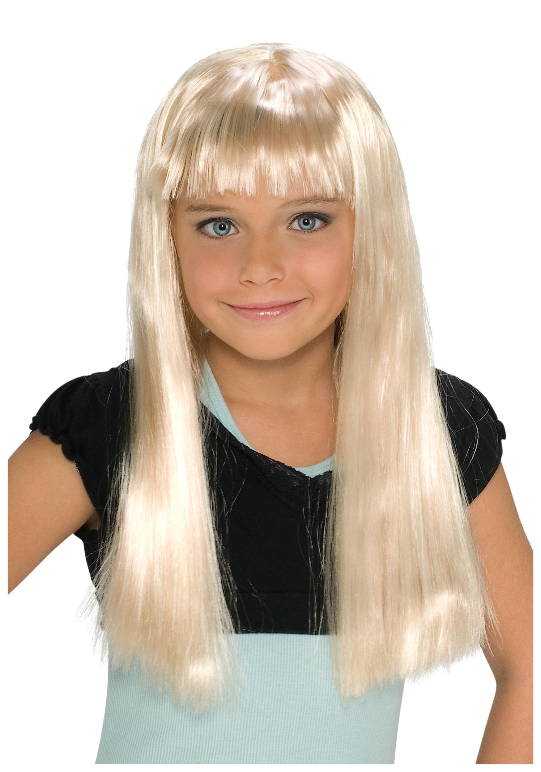 Child Alice Blonde Wig Walmart