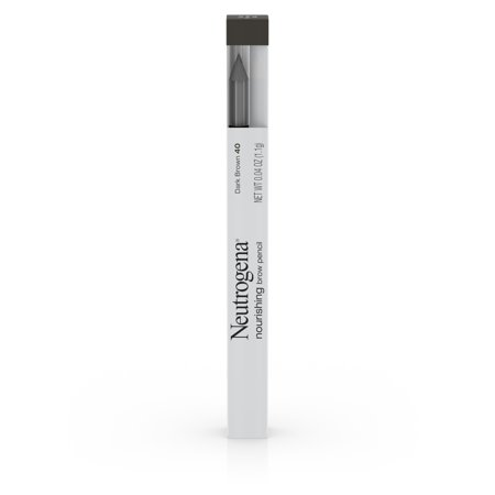 Neutrogena Nourishing Eyebrow Pencil and Brush  Dark Brown 40 -0.04oz