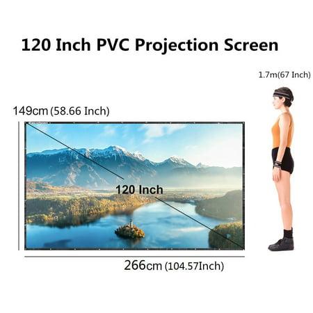 Rear Projection Screen Kit - 120