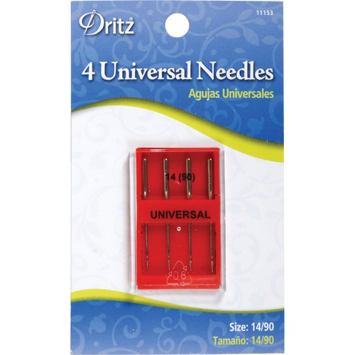 Universal Machine Needles, Size 14/90, 4pk