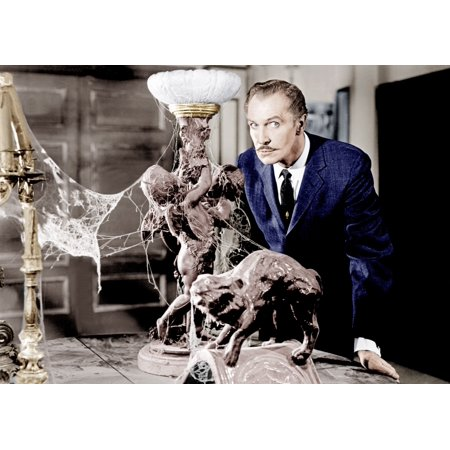House On Haunted Hill Vincent Price 1959 Photo Print